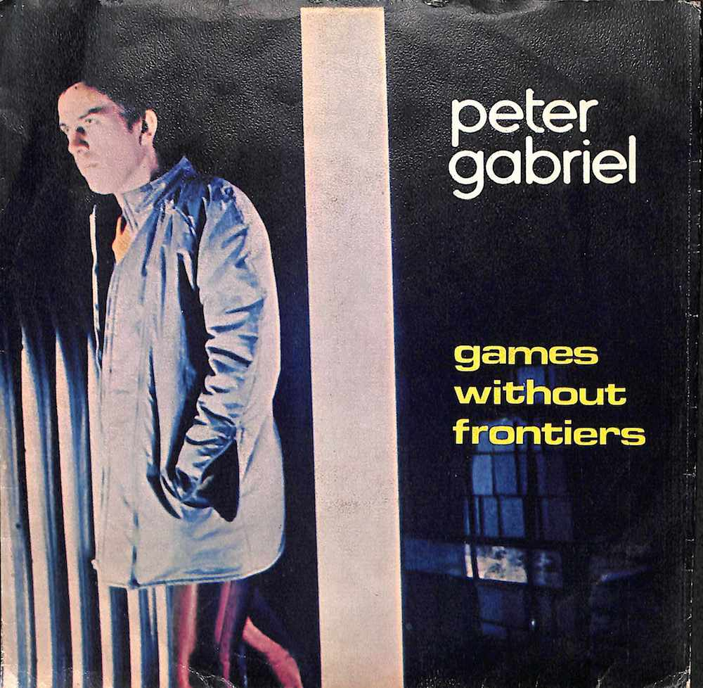PETER GABRIEL - Games Without Frontiers / Start / I Don't Remember - 7inch x 1