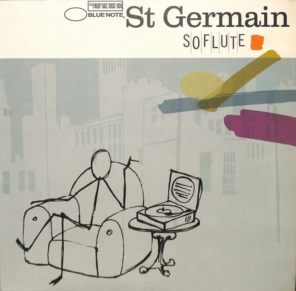 ST GERMAIN - So Flute - 12 inch x 1
