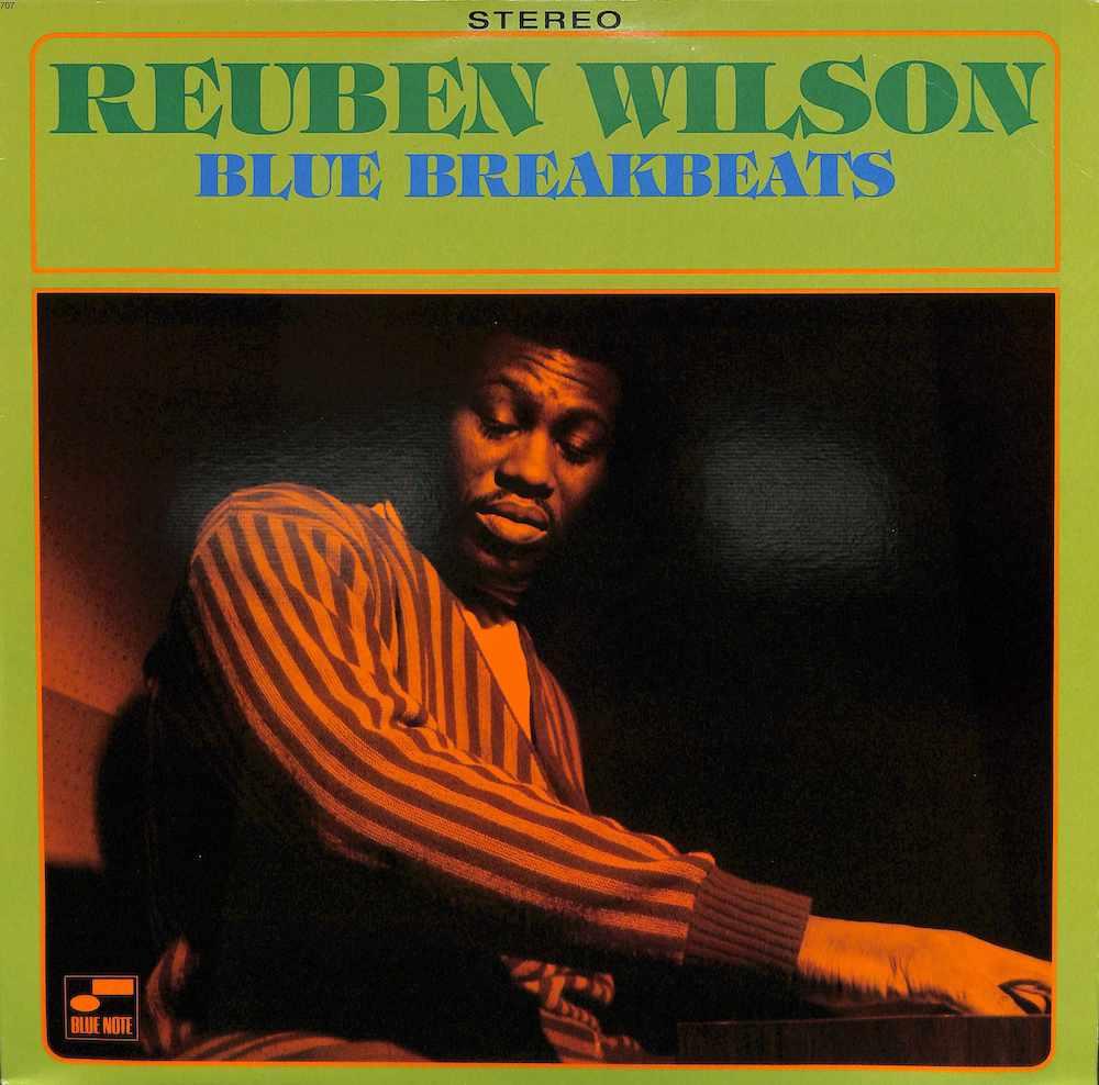 REUBEN WILSON - Blue Breakbeats - 33T