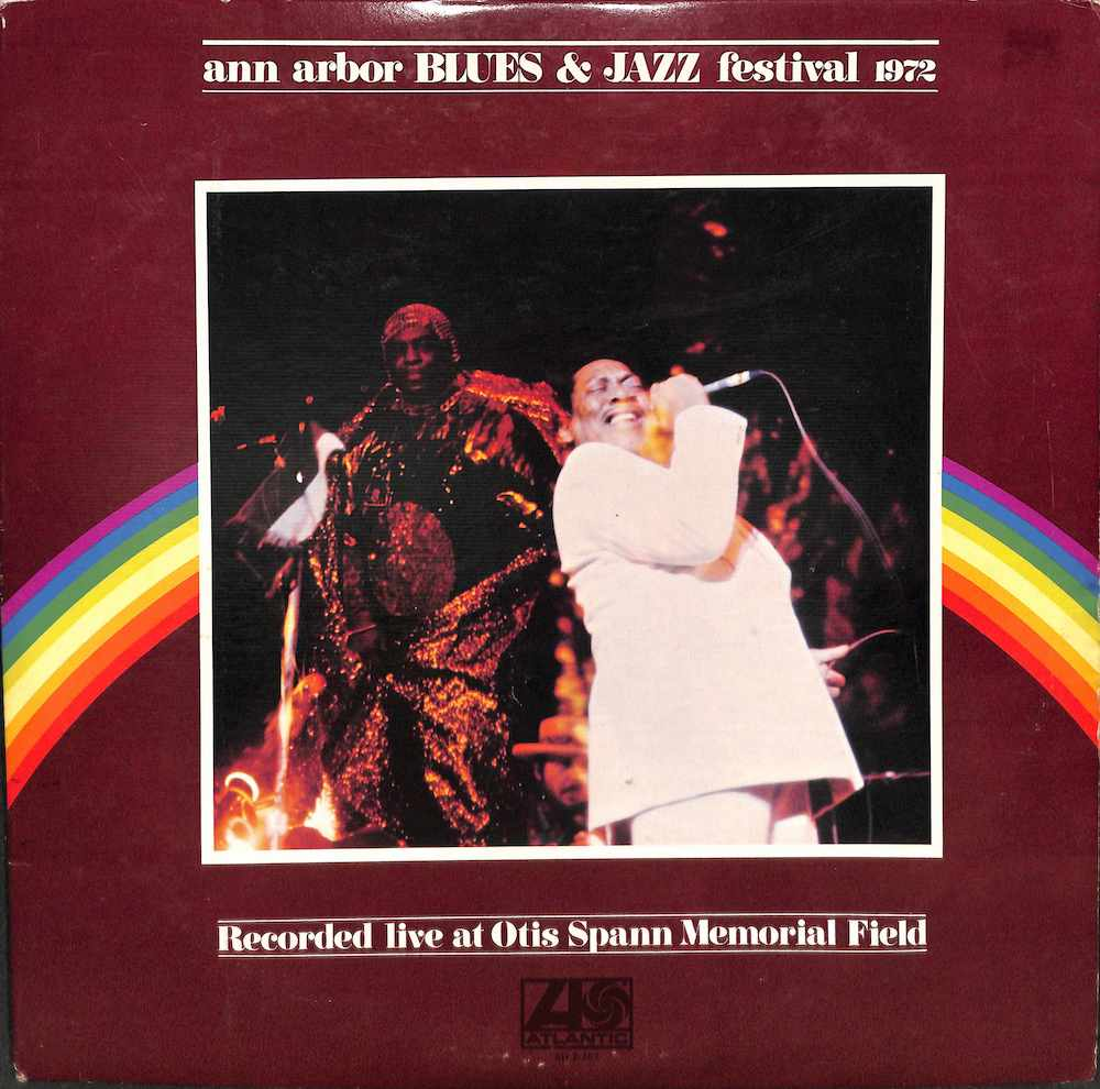 V.A. - Ann Arbor Blues & Jazz Festival 1972 - 33T