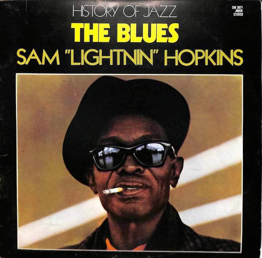 LIGHTNIN' HOPKINS - The Blues: History Of Jazz - 33T