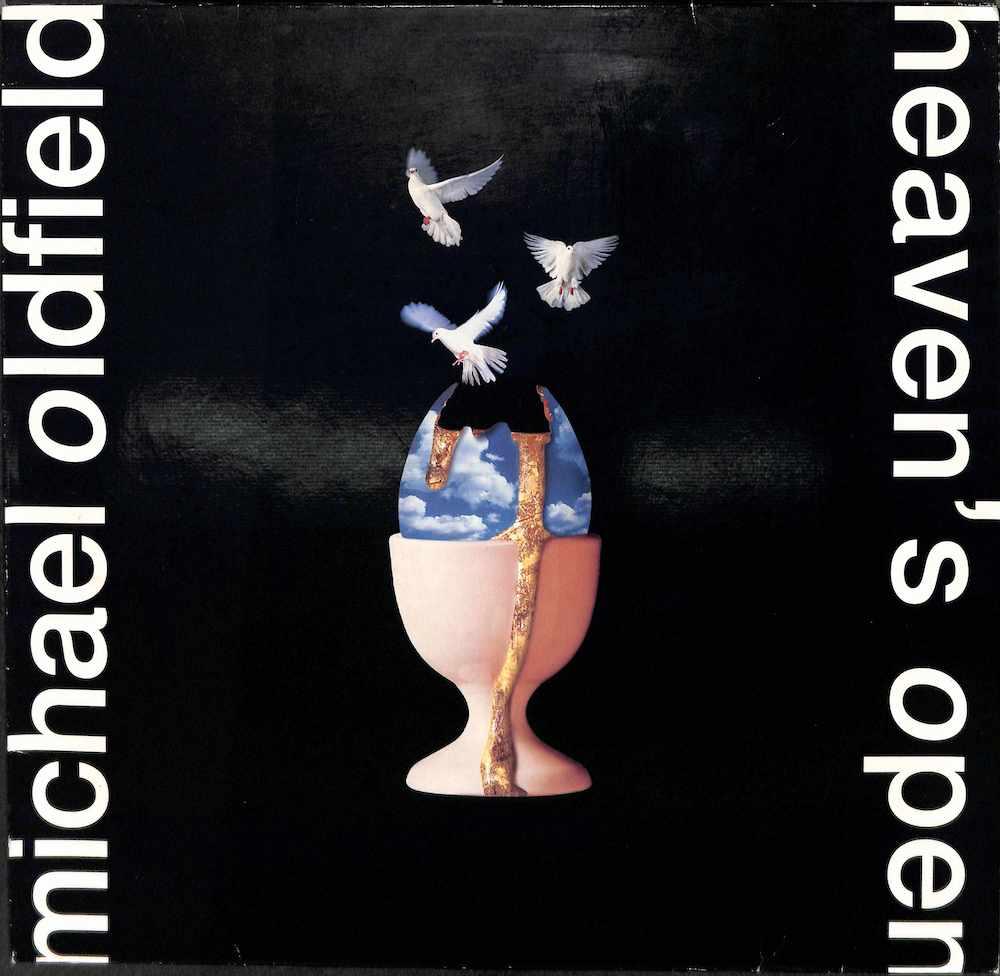 MIKE OLDFIELD: MICHAEL OLDFIELD - Heaven's Open - LP