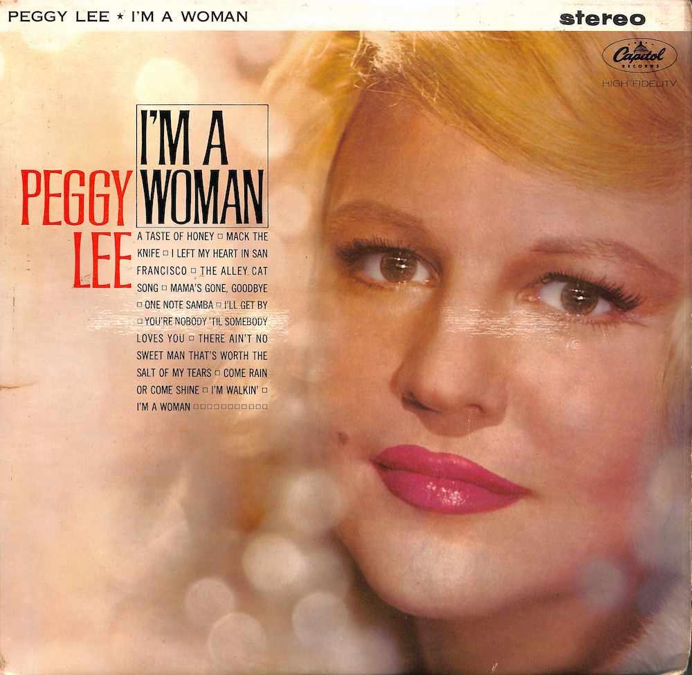 PEGGY LEE - I'm A Woman - LP