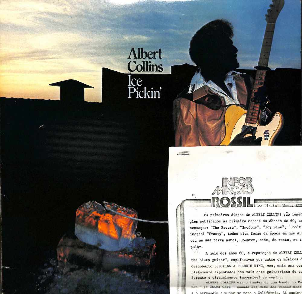 ALBERT COLLINS - Ice Pickin' - LP