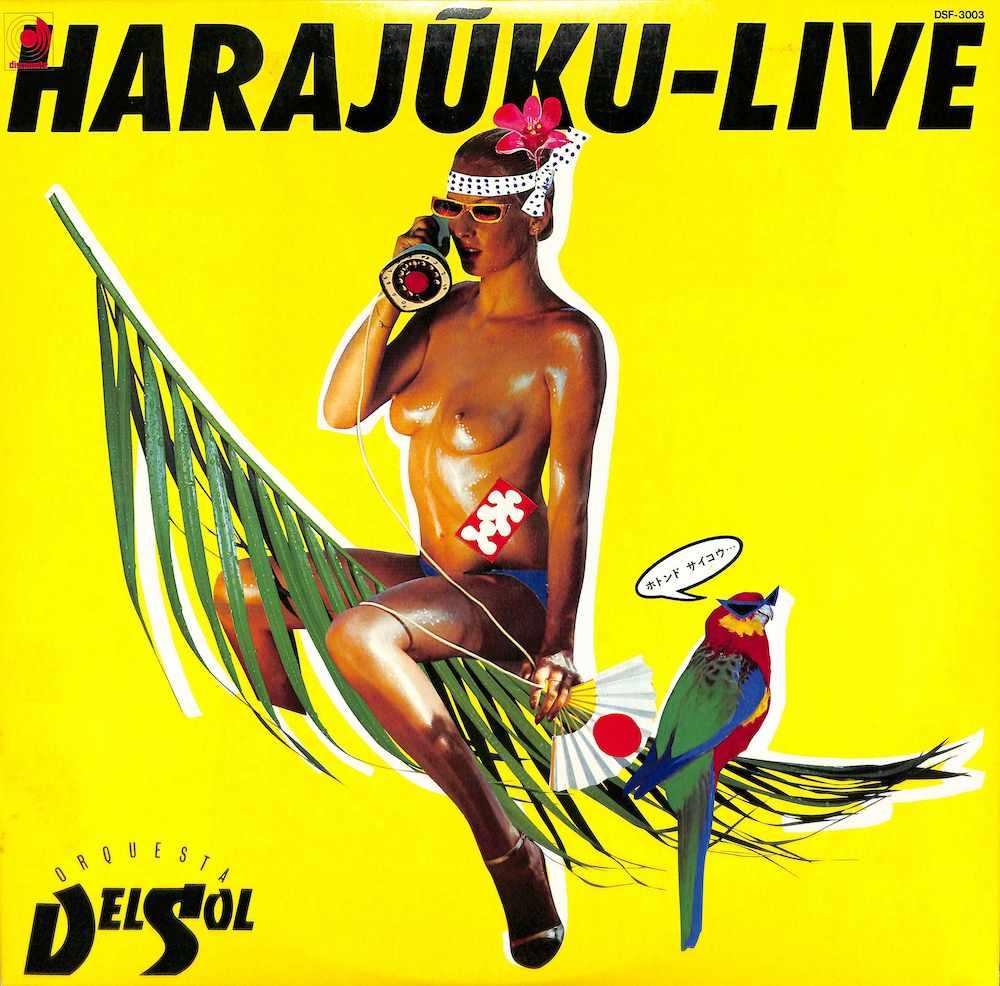 ORQUESTA DEL SOL - Harajuku Live - LP