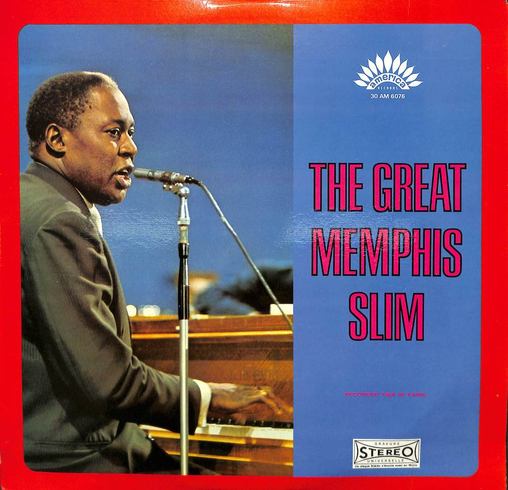 MEMPHIS SLIM - The Great Memphis Slim - LP
