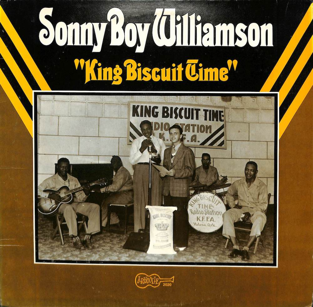 SONNY BOY WILLIAMSON - King Biscuit Time - LP