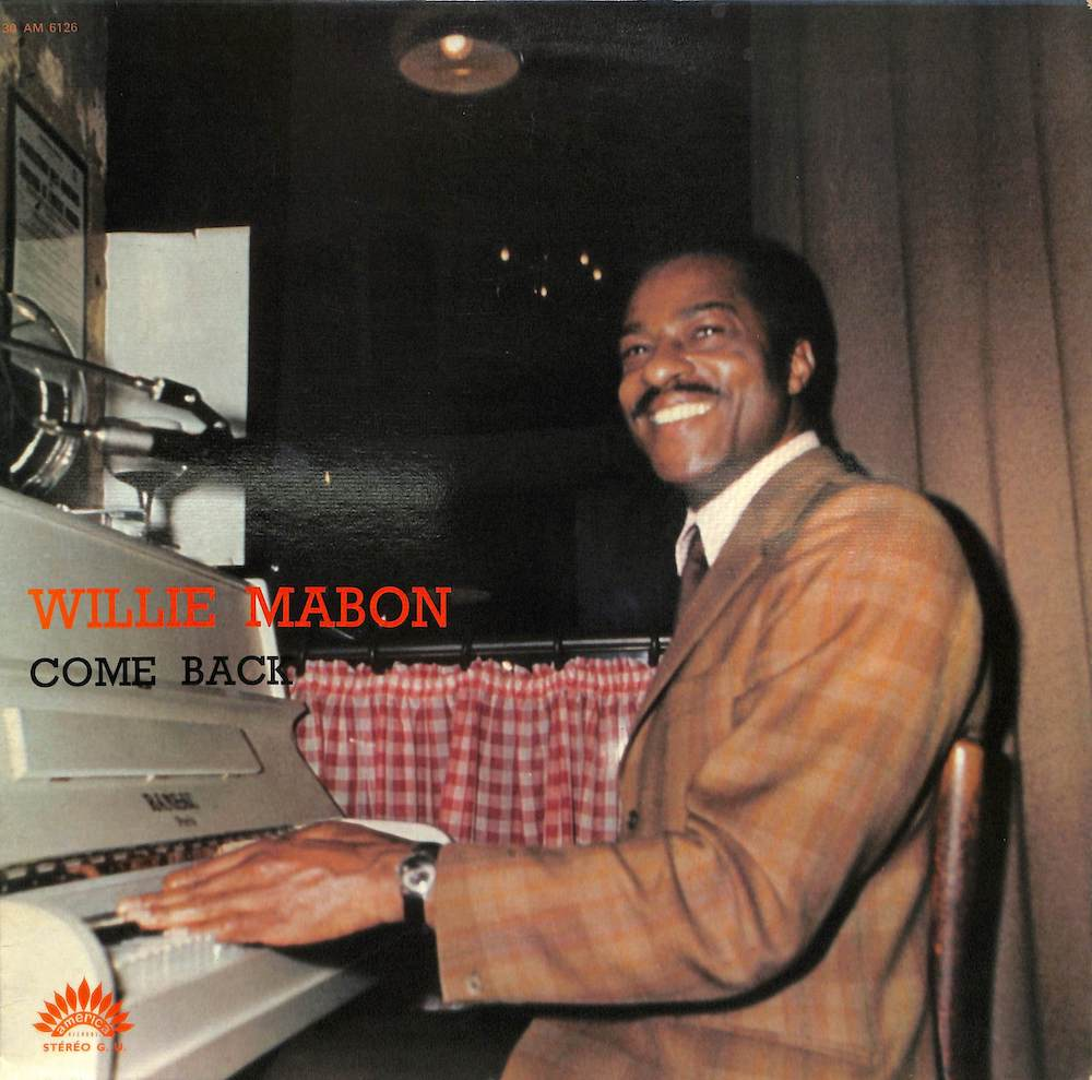 WILLIE MABON - Come Back - LP