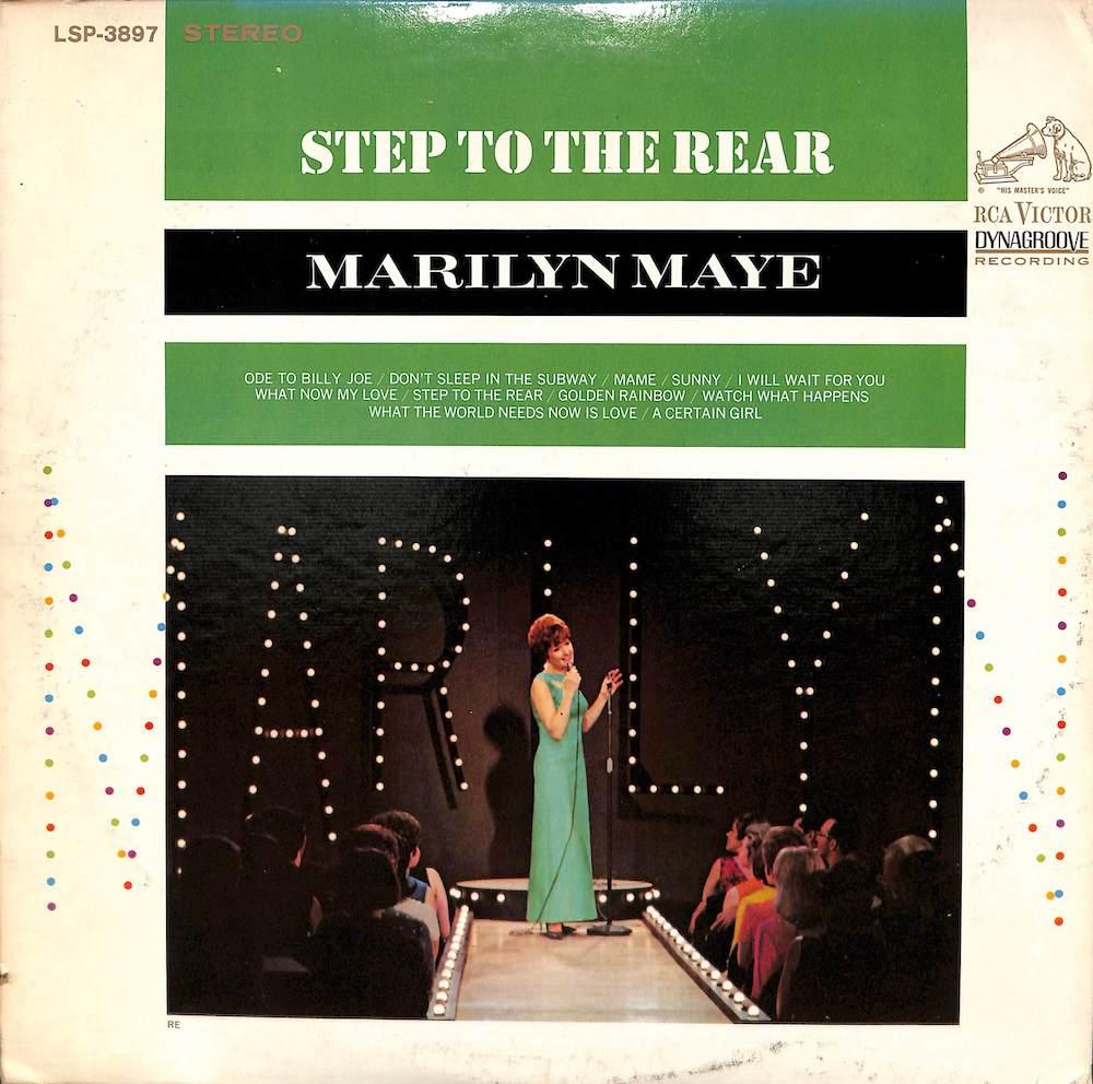 MARILYN MAYE Sep To The Rear
