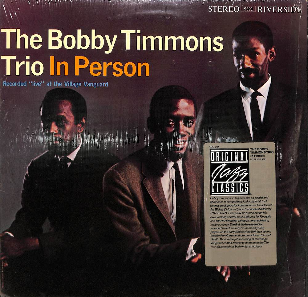 BOBBY TIMMONS TRIO - In Person - LP