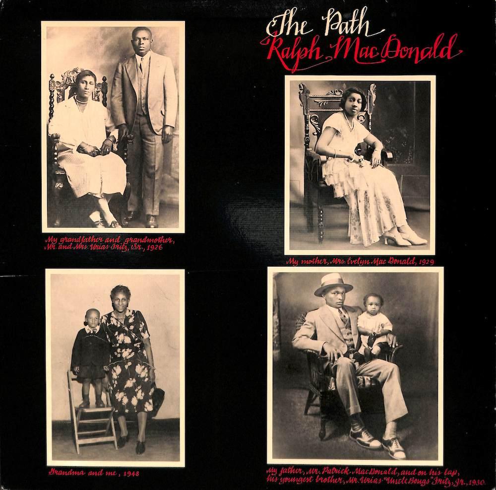 RALPH MACDONALD - The Path - 33T