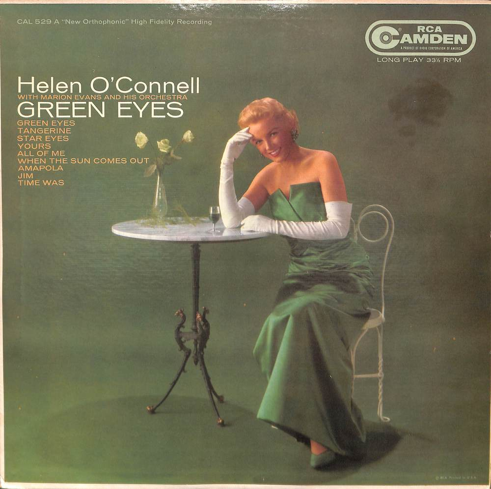 HELEN O'CONNELL Green Eyes