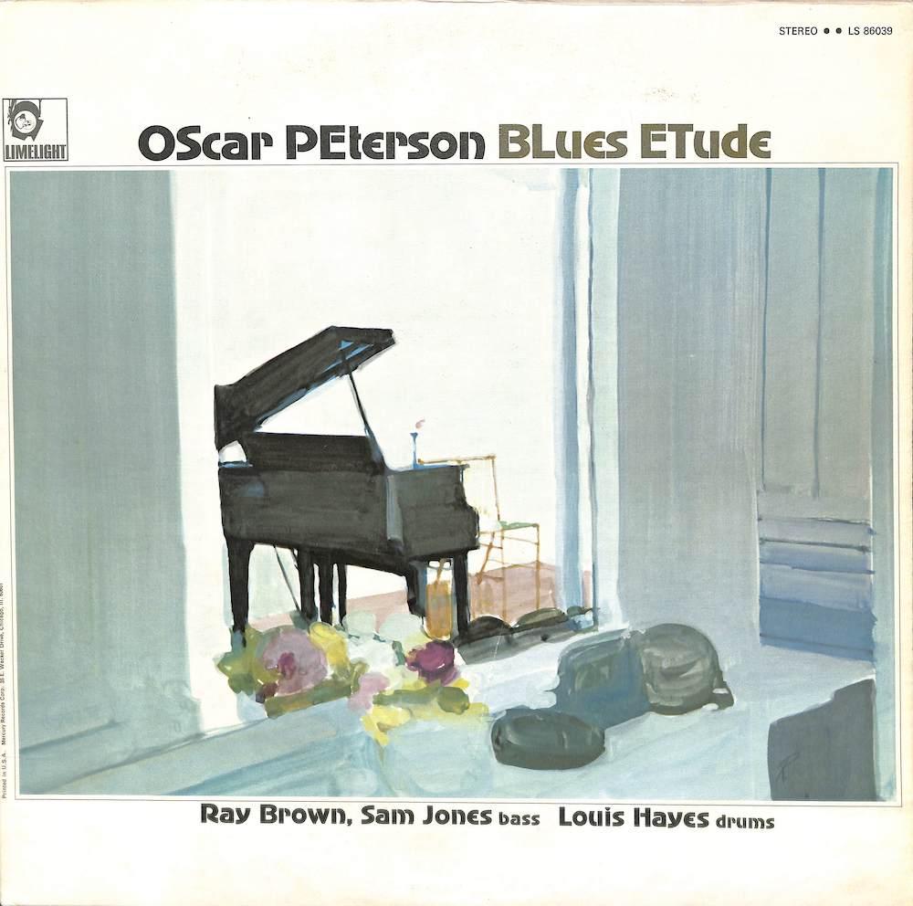 OSCAR PETERSON - Blues Etude - 33T