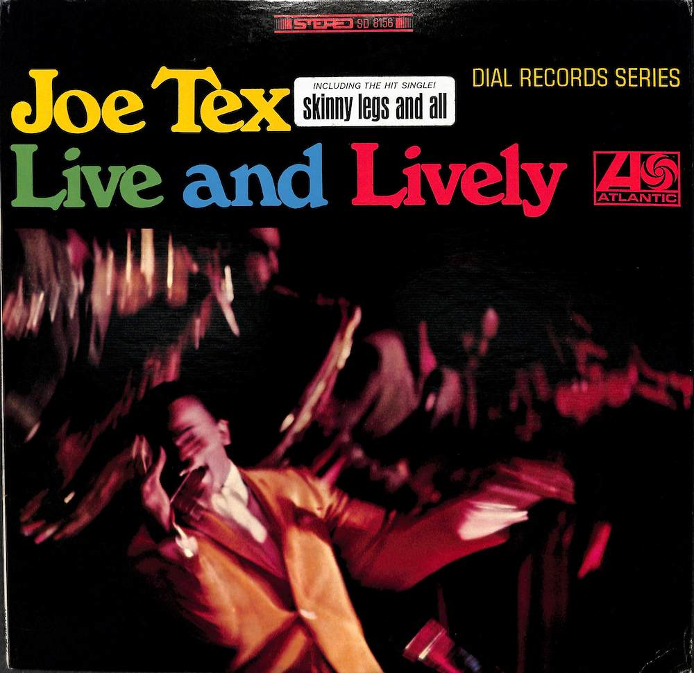JOE TEX - Live And Lively - LP