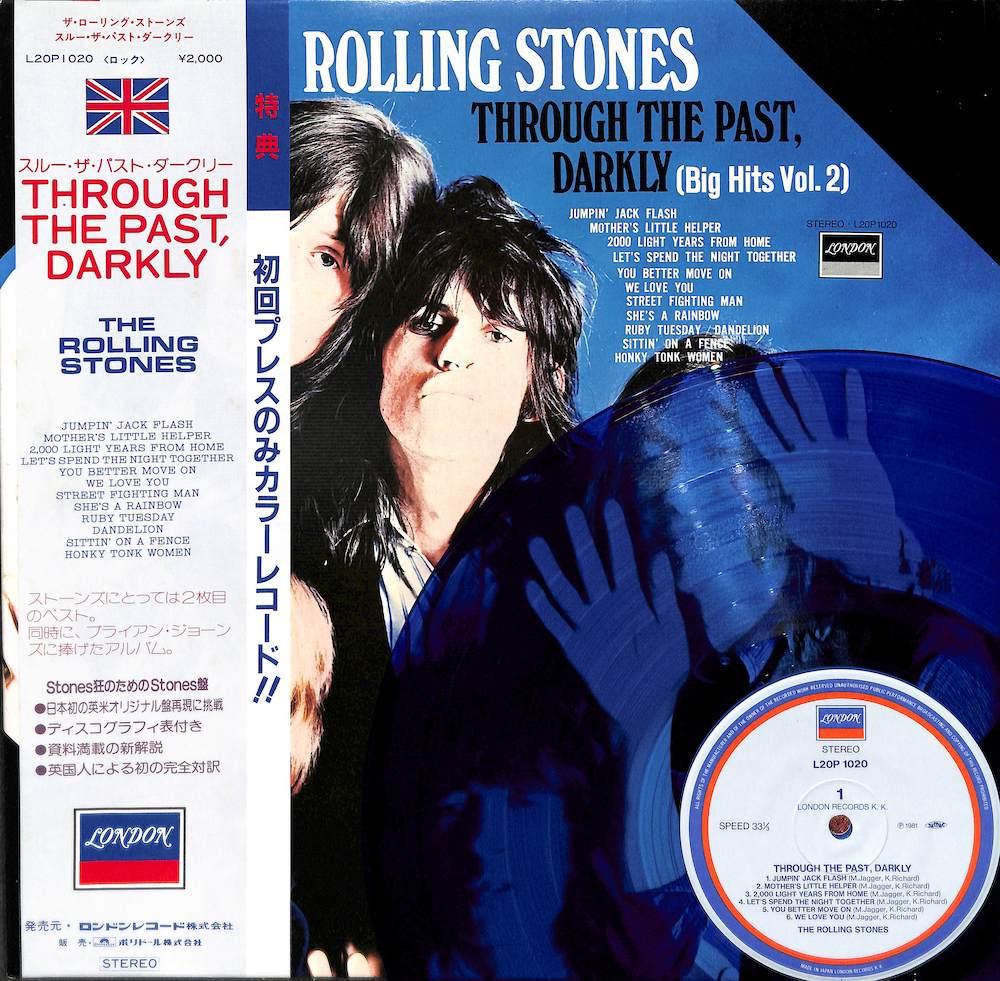 ROLLING STONES - Through The Past Darkly Big Hits Vol. 2 - 33T