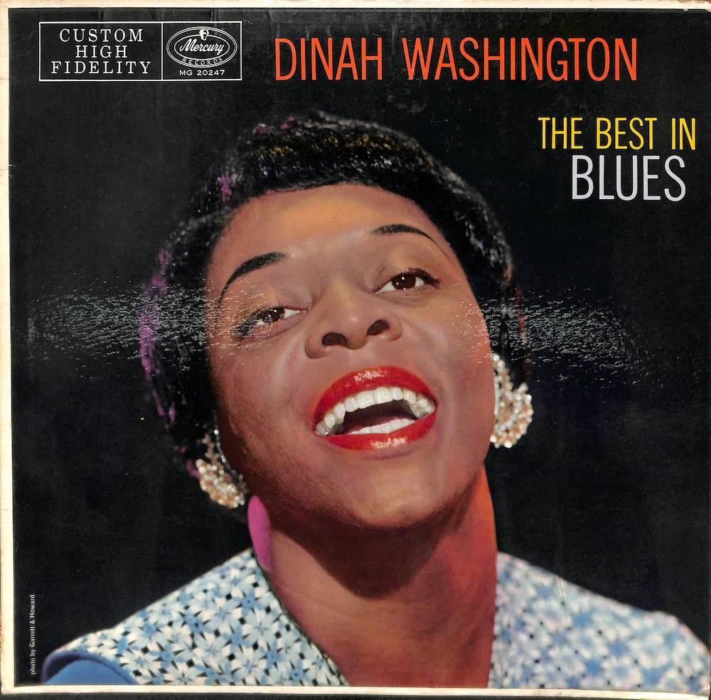 DINAH WASHINGTON - Sings The Best In Blues - 33T