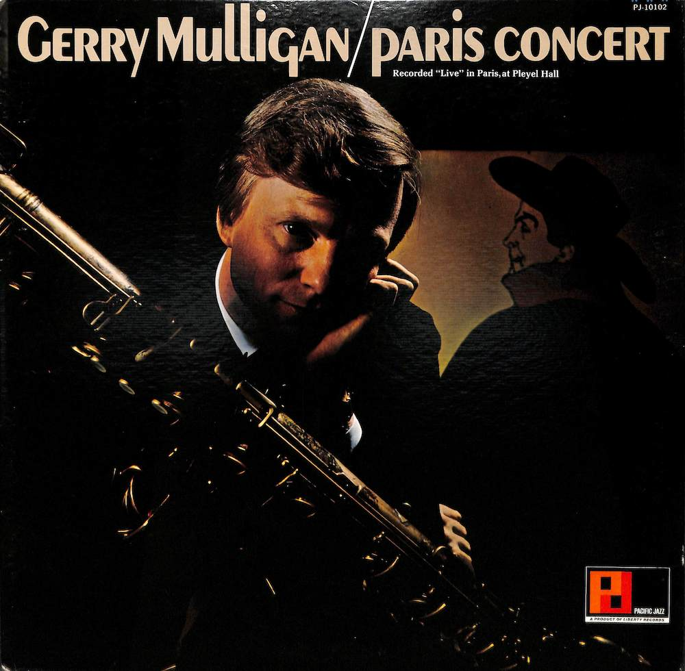GERRY MULLIGAN - Paris Concert - 33T