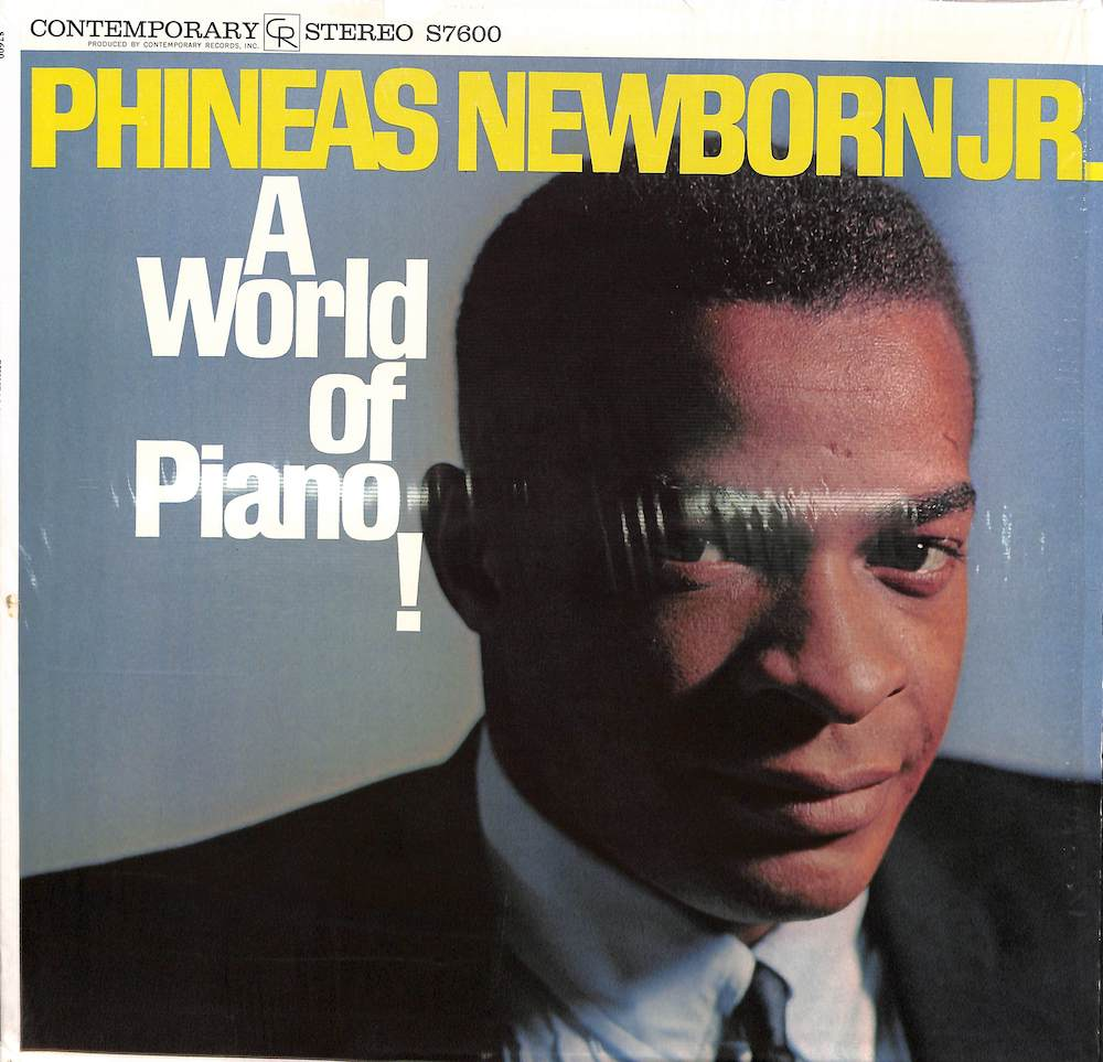 PHINEAS NEWBORN JR. - A World Of Piano - 33T