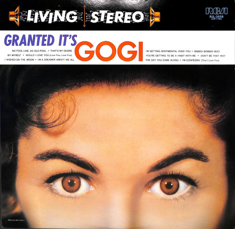 GOGI GRANT - Granted It's Gogi - LP