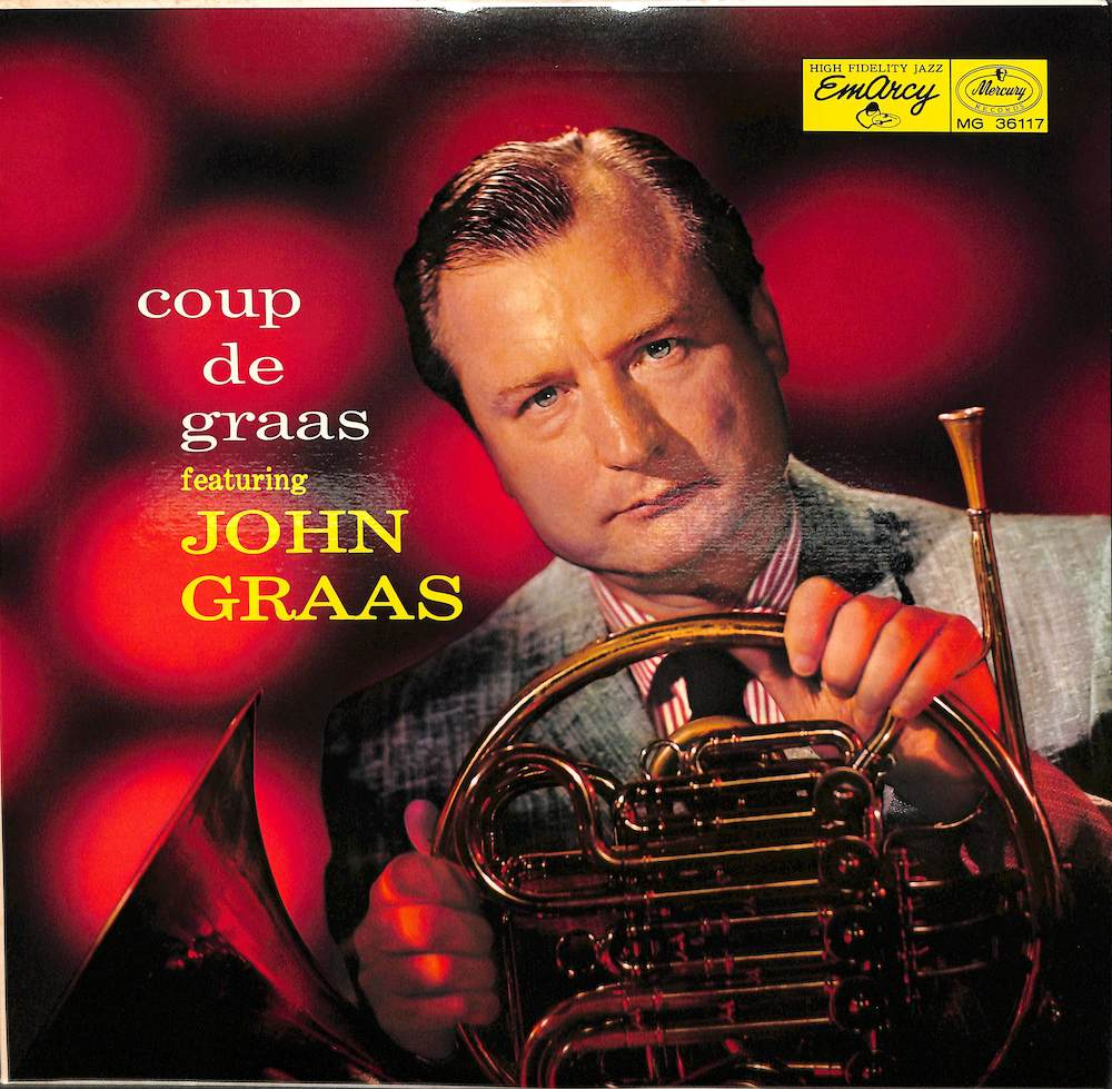 JOHN GRAAS ART PEPPER - Coup De Graas - 33T