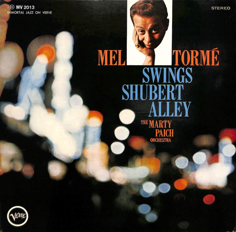 MEL TORME MARTY PAICH - Swings Shubert Alley - LP