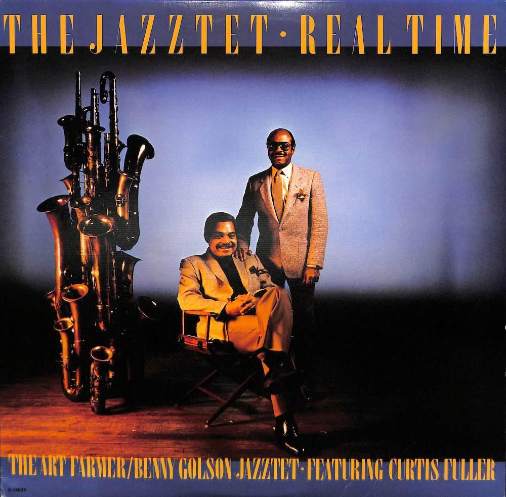 JAZZTET: ART FARMER BENNY GOLSON CURTIS FULLER - Real Time - LP