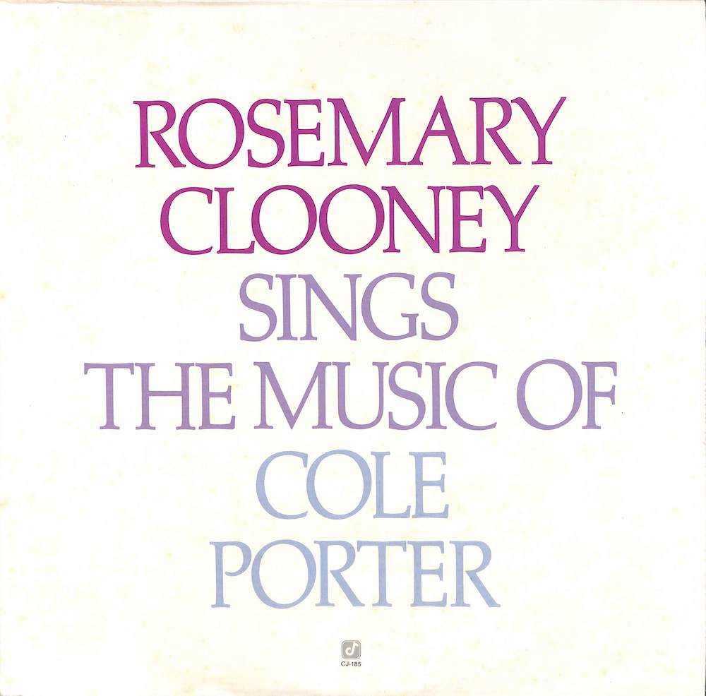ROSEMARY CLOONEY - Sings The Music Of Cole Porter - 33T