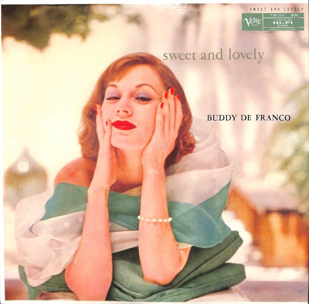 BUDDY DE FRANCO QUARTET - Sweet & Lovely - LP