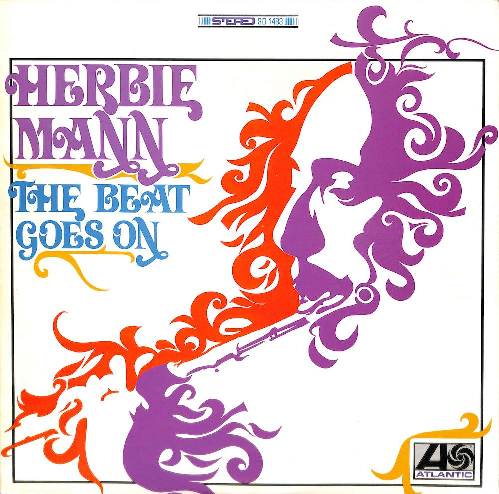 HERBIE MANN - The Beat Goes On - 33T
