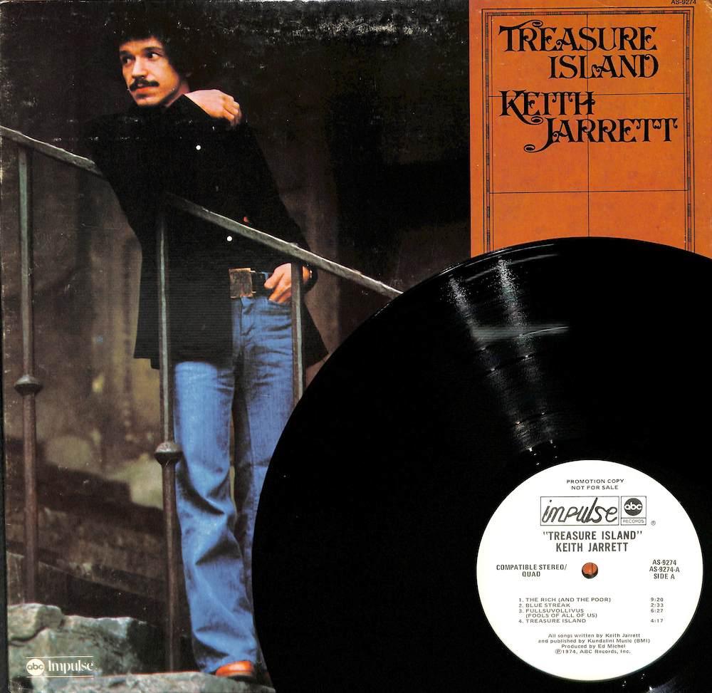 KEITH JARRETT - Treasure Island - LP