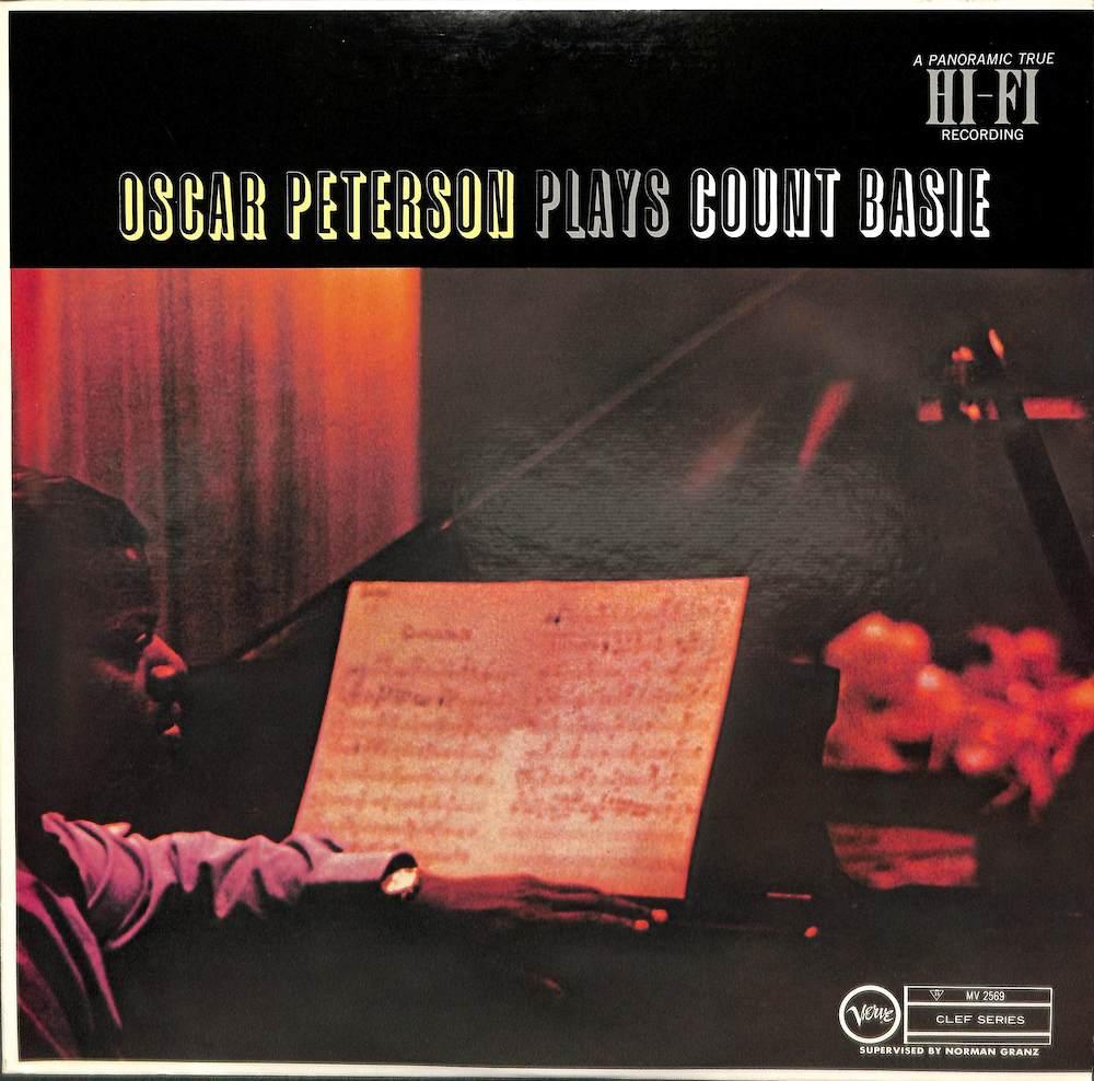 OSCAR PETERSON - Plays Count Basie - LP