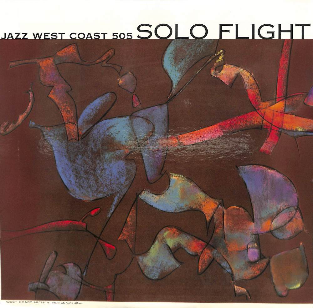 V.A. CHET BAKER BUD SHANK BILL PERKINS ETC - Solo Flight - LP