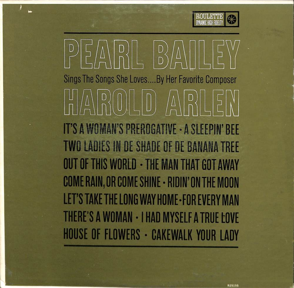 PEARL BAILEY - Sings The Songs She Loves - 33T