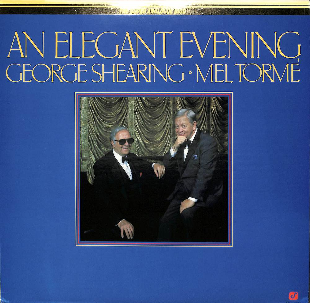 GEORGE SHEARING MEL TORME - An Elegant Evening - LP
