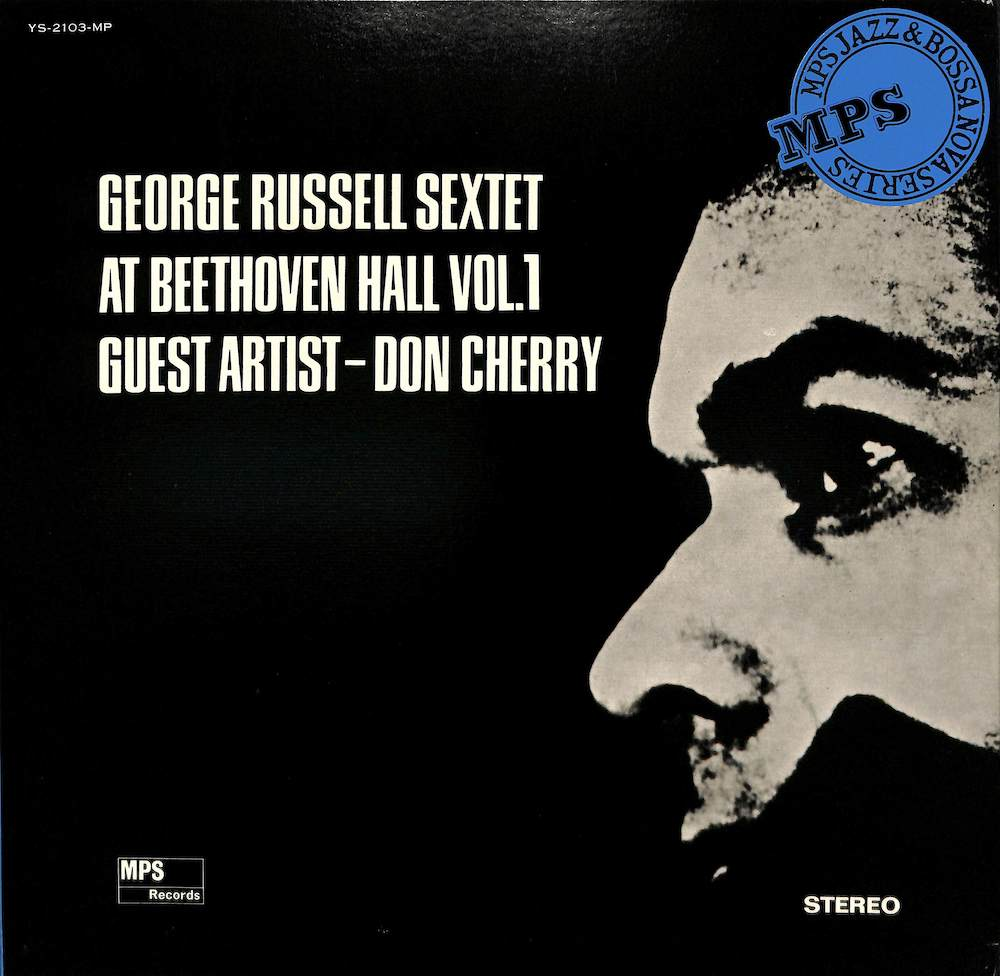 GEORGE RUSSELL SEXTET DON CHERRY - At Beethoven Hall Vol. 1 - LP