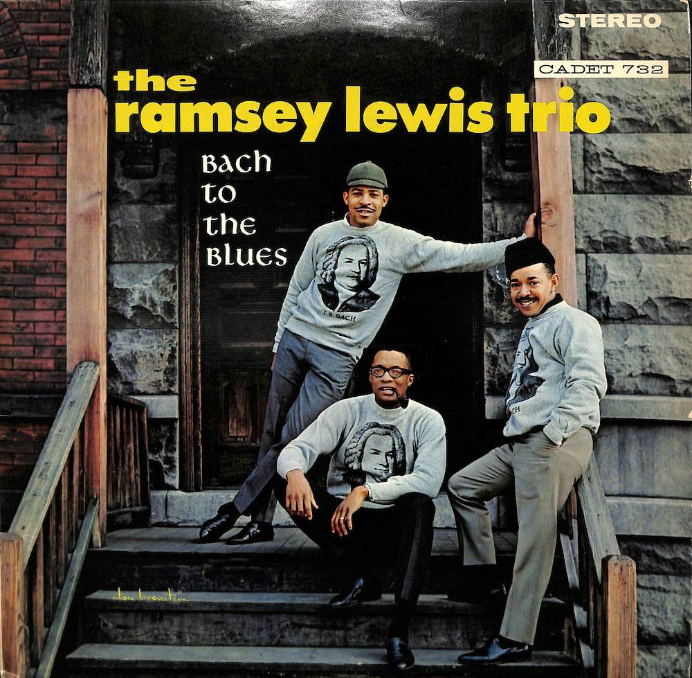 RAMSEY LEWIS TRIO - Bach To The Blues - LP