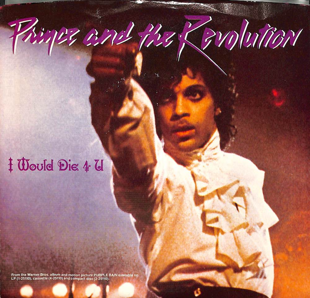 PRINCE - I Would die 4 U / Another Lonely Christmas - 7inch x 1