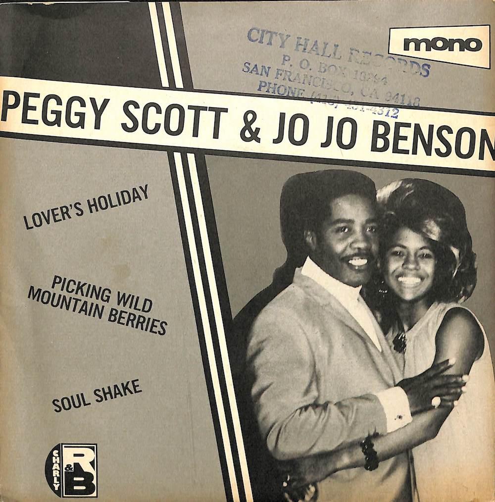 PEGGY SCOTT & JO JO BENSON - Lover's Holiday - 7inch x 1