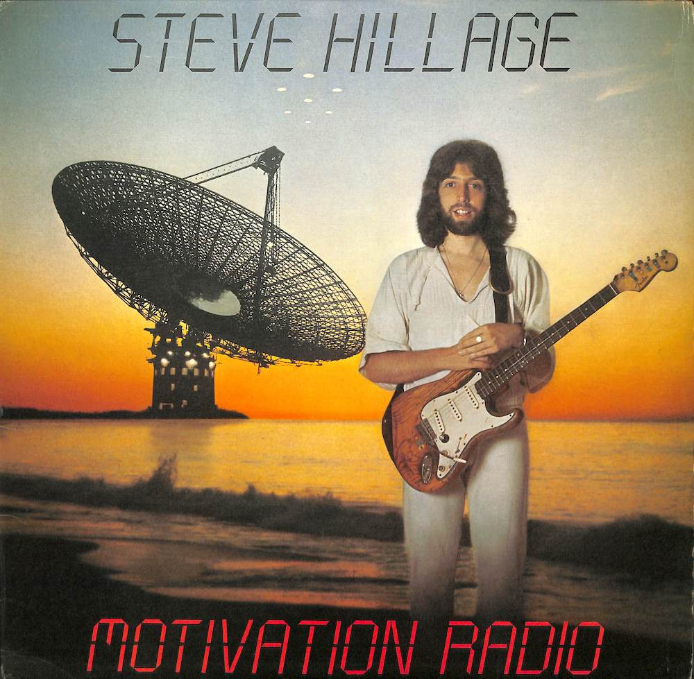 STEVE HILLAGE - Motivation Radio - LP