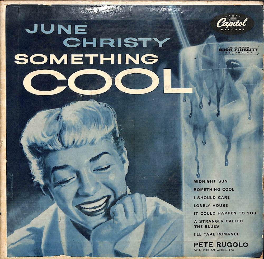 JUNE CHRISTY - Something Cool: EP - 7inch x 1