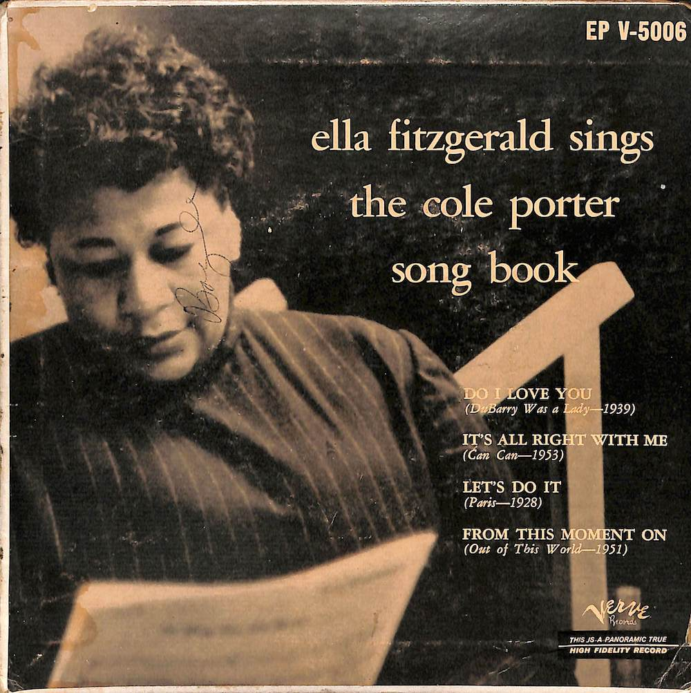 ELLA FITZGERALD - Sings The Cole Porter Song Book - 7inch x 1