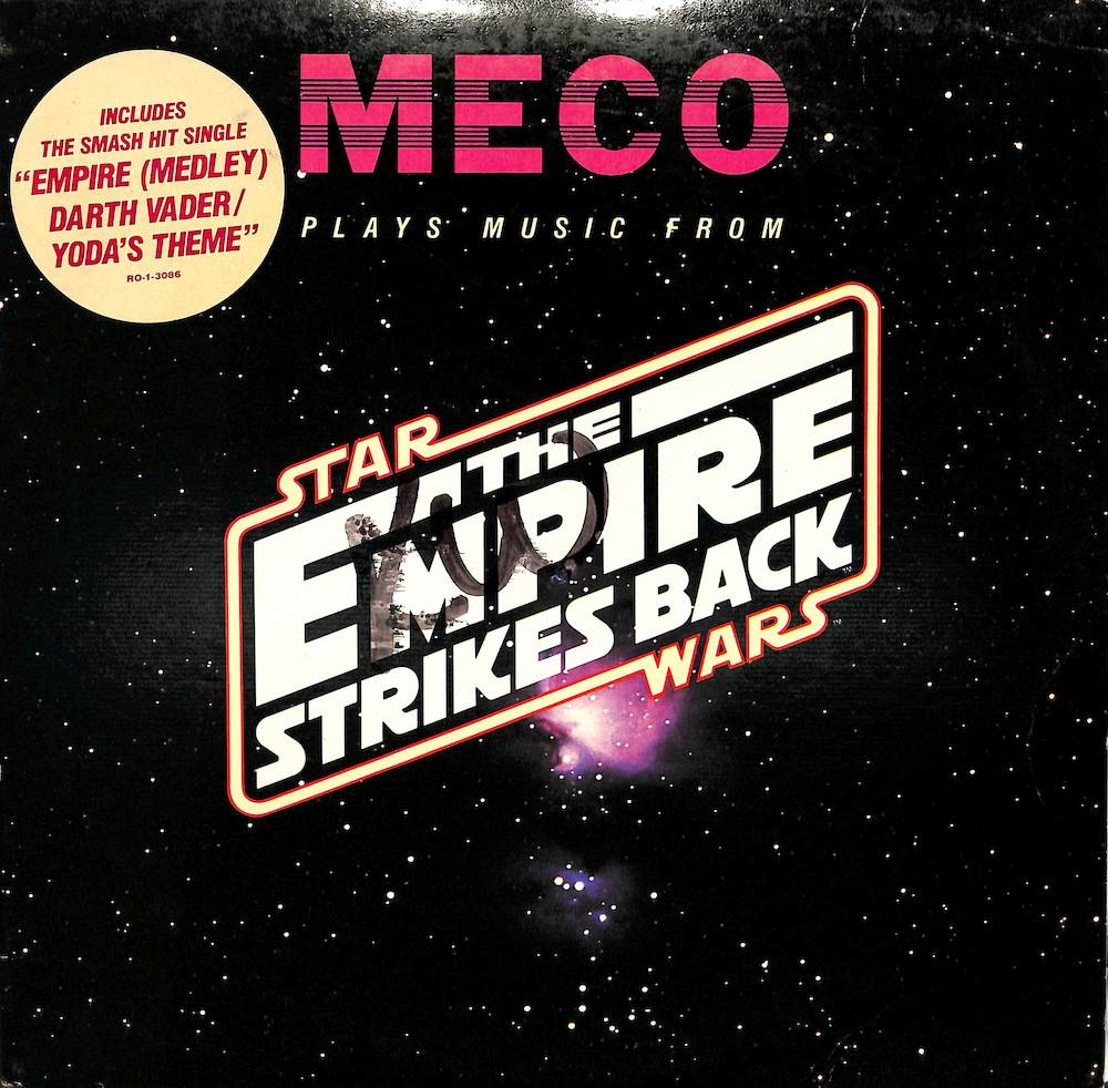 MECO - Plays Music From Star Wars The Empire Strikes Back - 10 inch