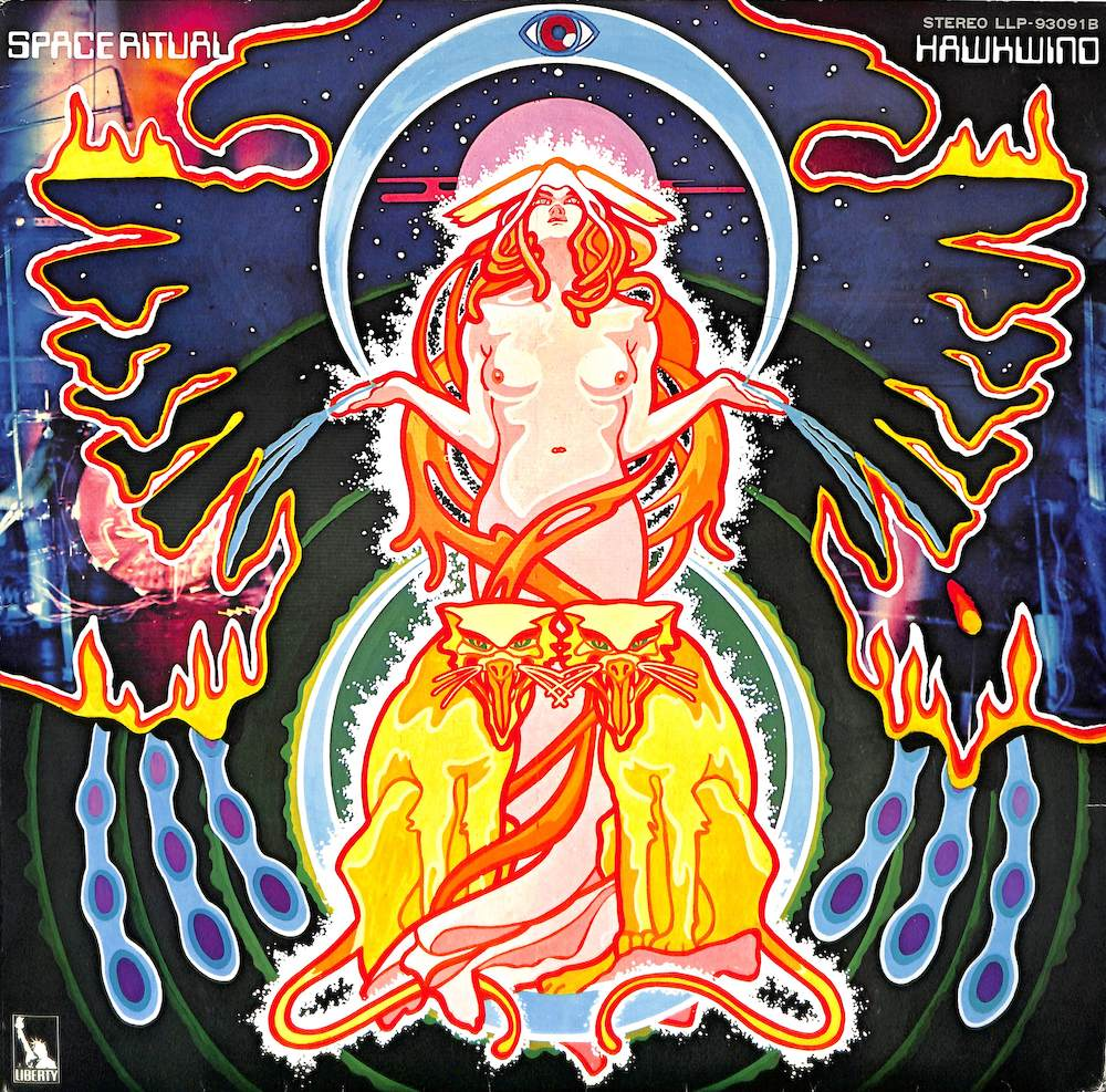 HAWKWIND - The Space Ritual: Alive In Liverpool & London - LP