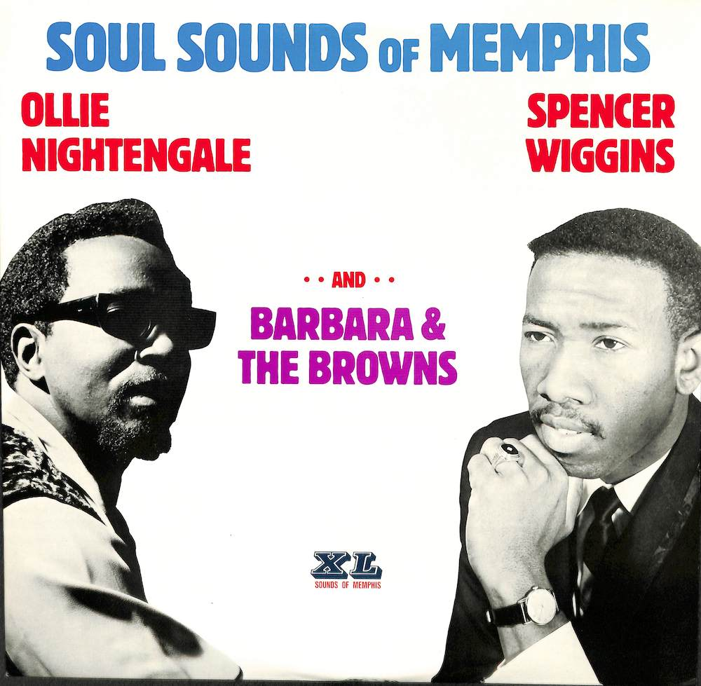 SPENCER WIGGINS OLLIE NIGHTENGALE BARBARA & THE BR - Soul Sounds Of Memphis - LP