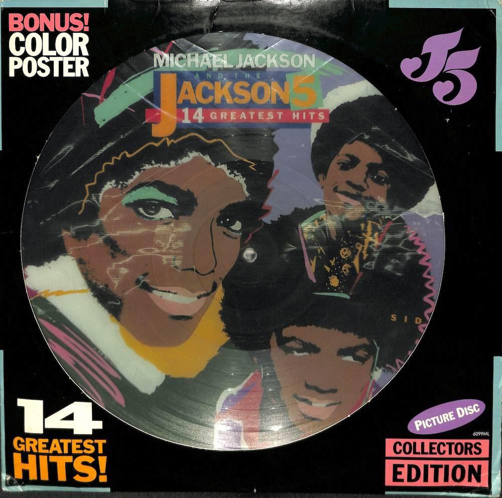 MICHAEL JACKSON & JACKSON 5 - 14 Greatest Hits - LP