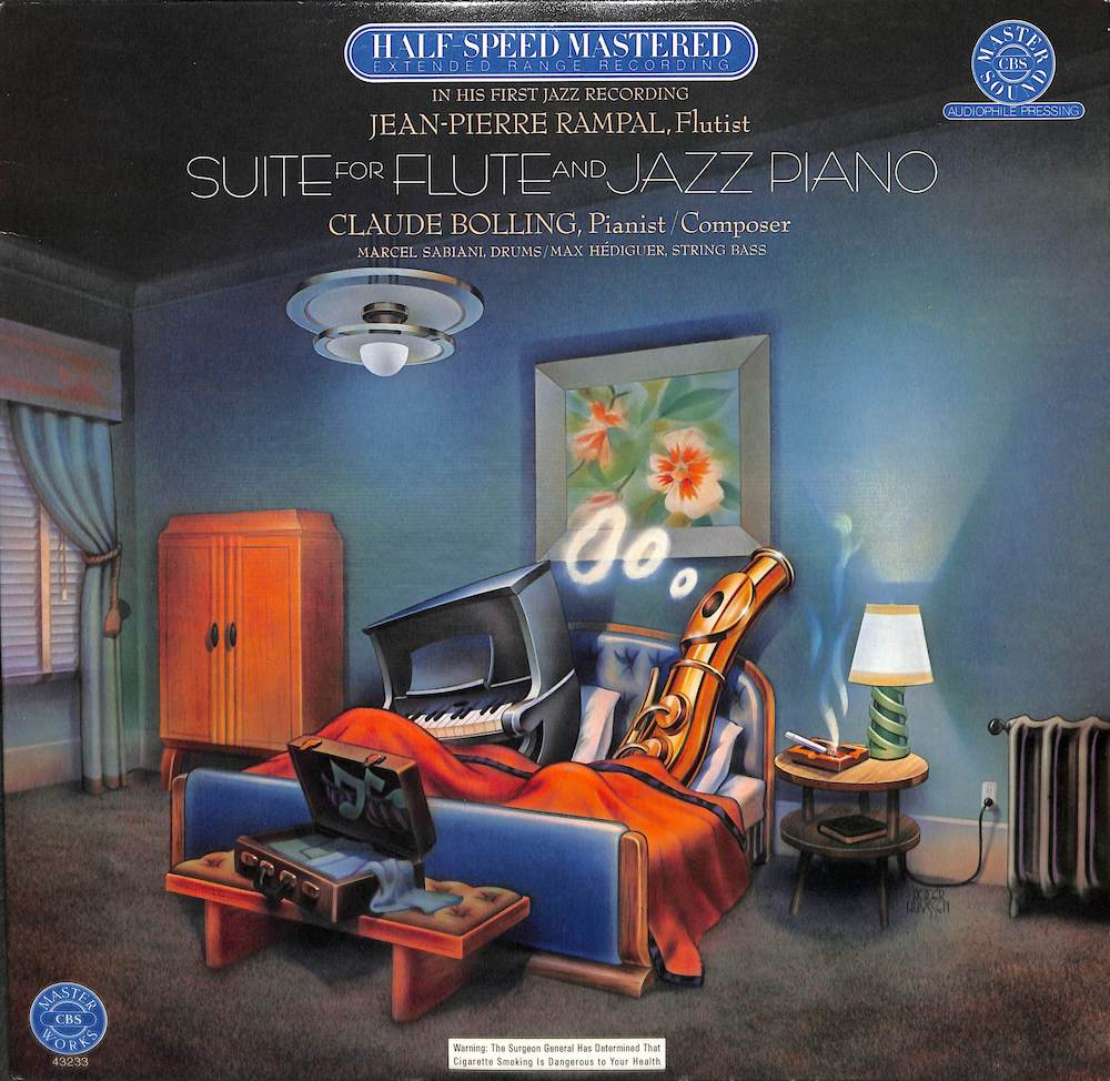 JEAN PIERRE RAMPAL / CLAUDE BOLLING - Suite For Flute And Jazz Piano - LP