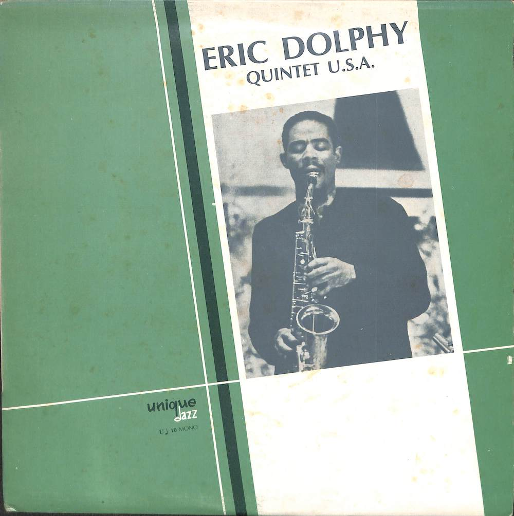 ERIC DOLPHY - Quintet U.S.A. - 33T