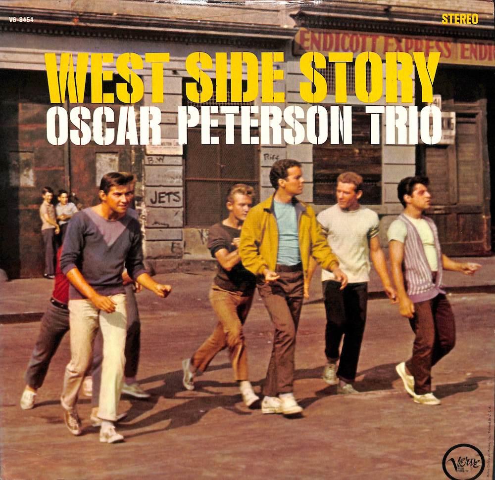 OSCAR PETERSON TRIO - West Side Story - LP
