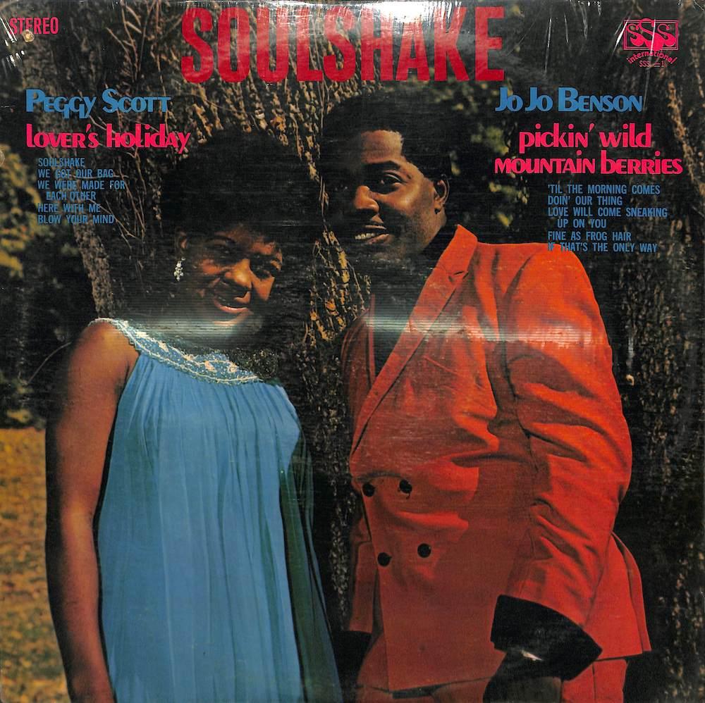 PEGGY SCOTT & JO JO BENSON - Soulshake - LP