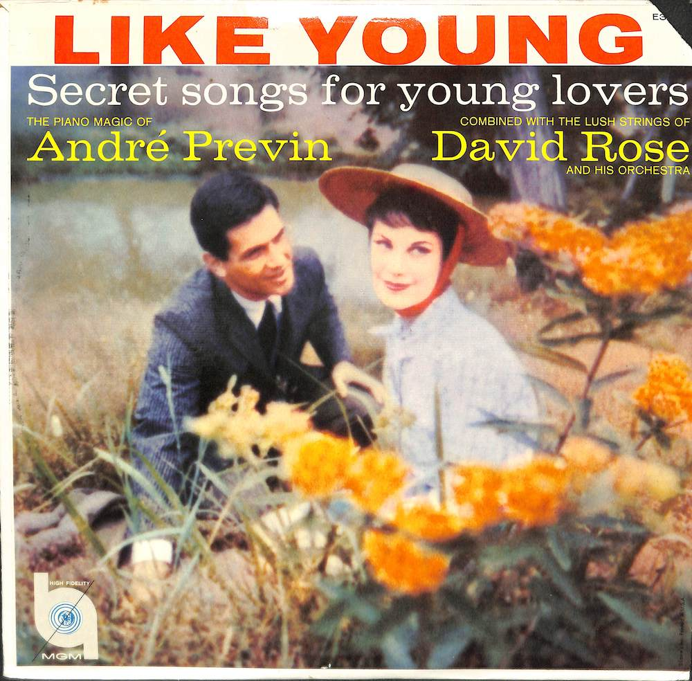 ANDRE PREVIN DAVID ROSE - Secret Songs For Young Lovers - LP